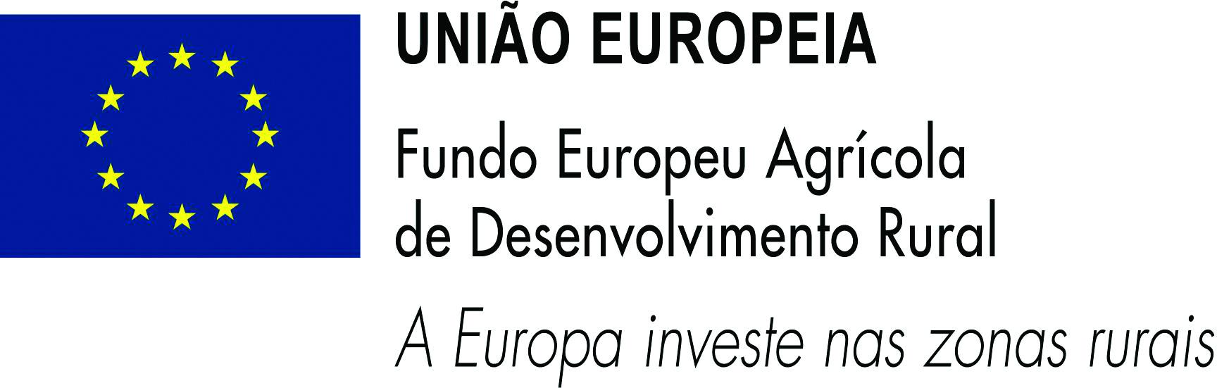 logo Fundo Europeu Agrícola de Desenvolvimento Rural (FEADER)